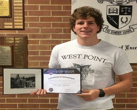 Shea Buckner Accepted to West Point