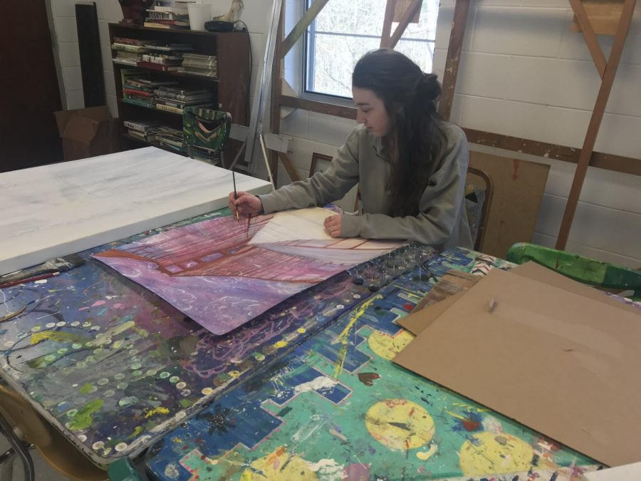 Featured Art Student: Whitney Seals
